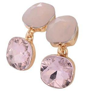 Kate Spade Double Drop Crystal Earrings